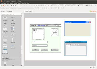 Pencil Project The GUI Prototyping Tool