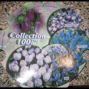 Blauwe collectie