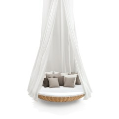 Hanging Patio Swing Chair All Purpose Salon Chairs Reclining Dedon | Swingrest Canopy For Lounger