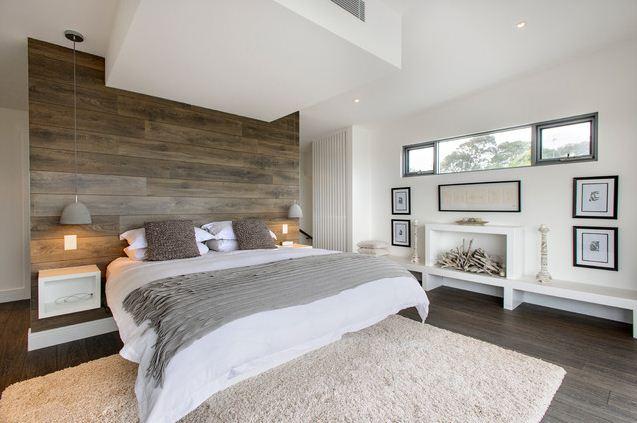 Diseo de un dormitorio con paredes rsticas  Dormitorios  Decoracin de Dormitorios y Habitaciones