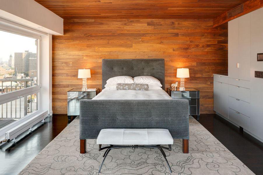 Clido diseo de dormitorio con detalles en madera  Dormitorios  Decoracin de Dormitorios y Habitaciones