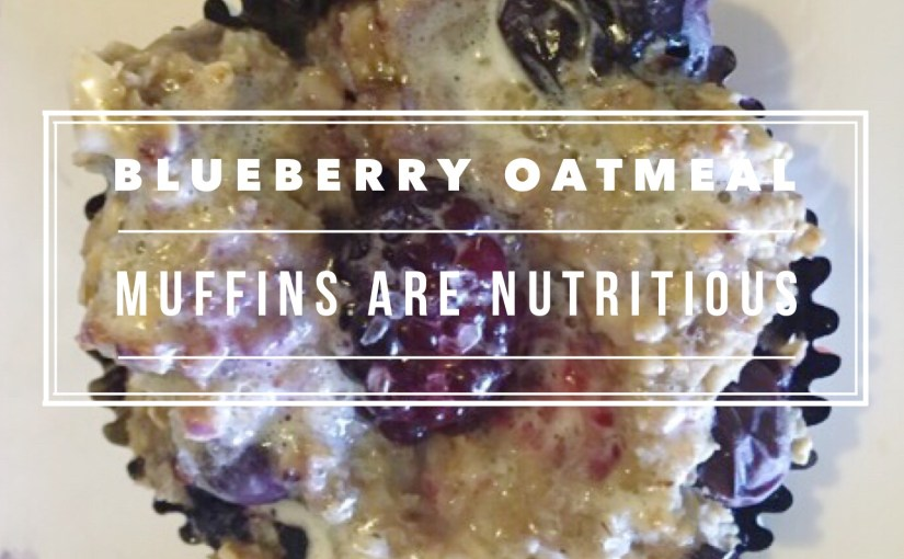 Blueberry Oatmeal Muffins are Nutritious