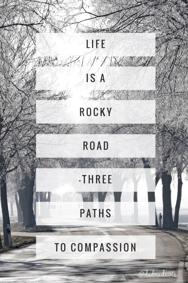 Life Is A Rocky Road-Three Paths To Compassion
