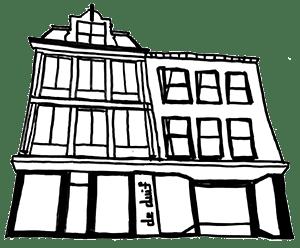 De Duif Mode Sneek tekening