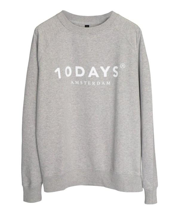 10DAYS - Sweater - Grijs
