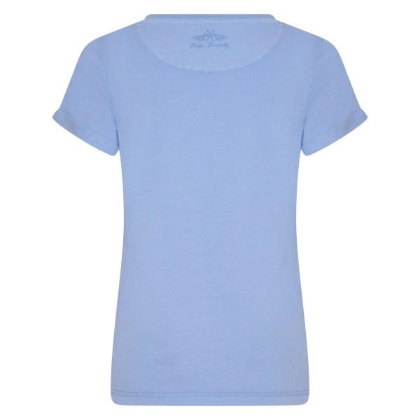 T-shirt Latoya - HV SOCIETY - Blauw