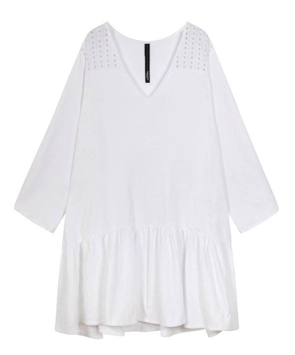 Tunic Broderie - 10DAYS - Wit