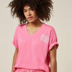 Tee Liberty – 10DAYS – Candy Pink 10Days T-shirt