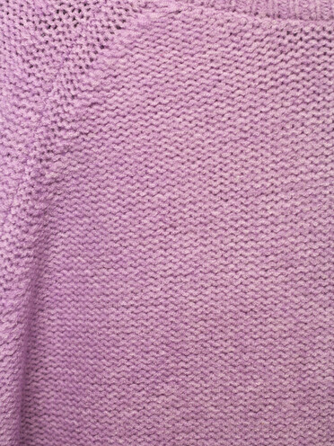 Ruby Knit Sweater - Co'Couture - Paars
