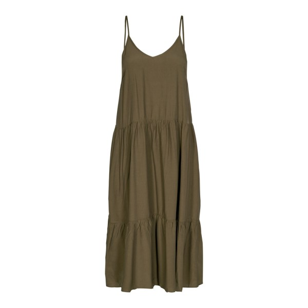 New Gipsy Strap Dress - Co'Couture - Army