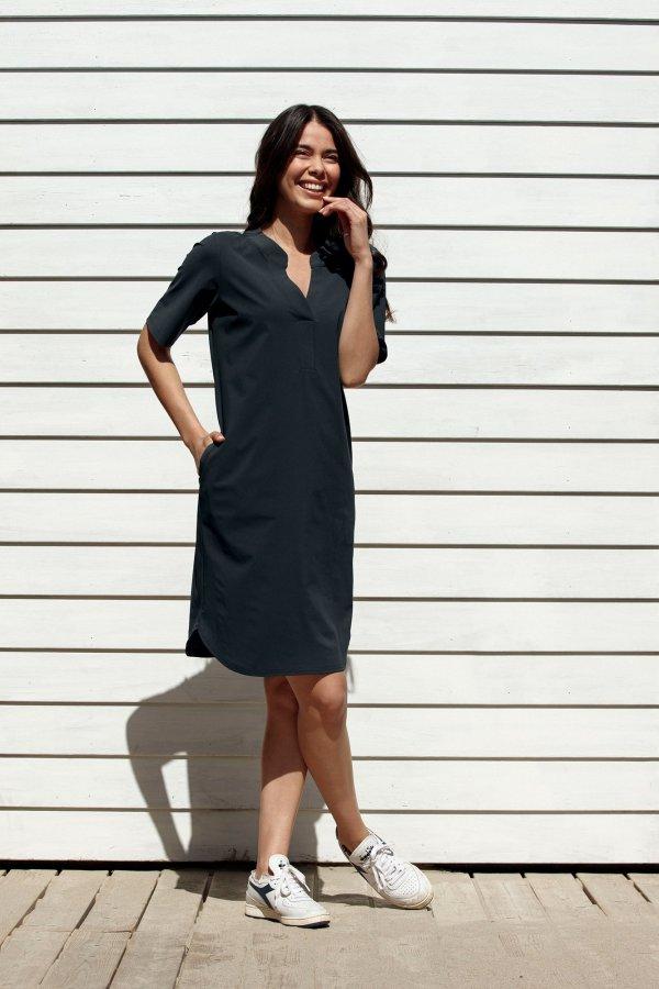 Stella Dress – Studio Anneloes – Dark Blue Nieuw Jurk