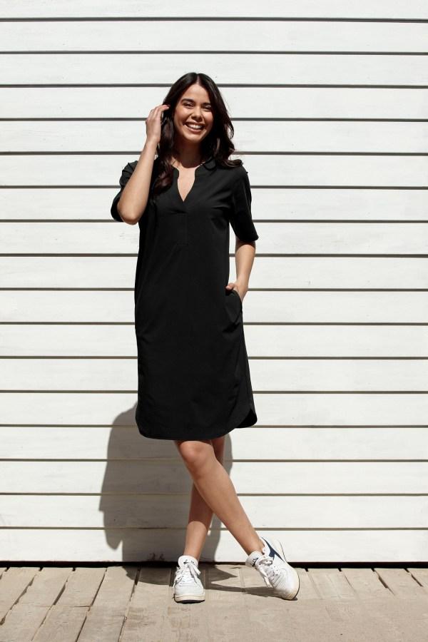 Stella Dress – Studio Anneloes – Black Nieuw Jurk