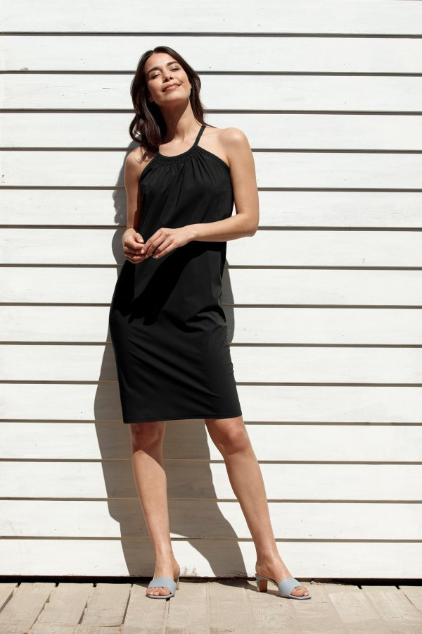 Carline Dress – Studio Anneloes – Black Nieuw Jurk