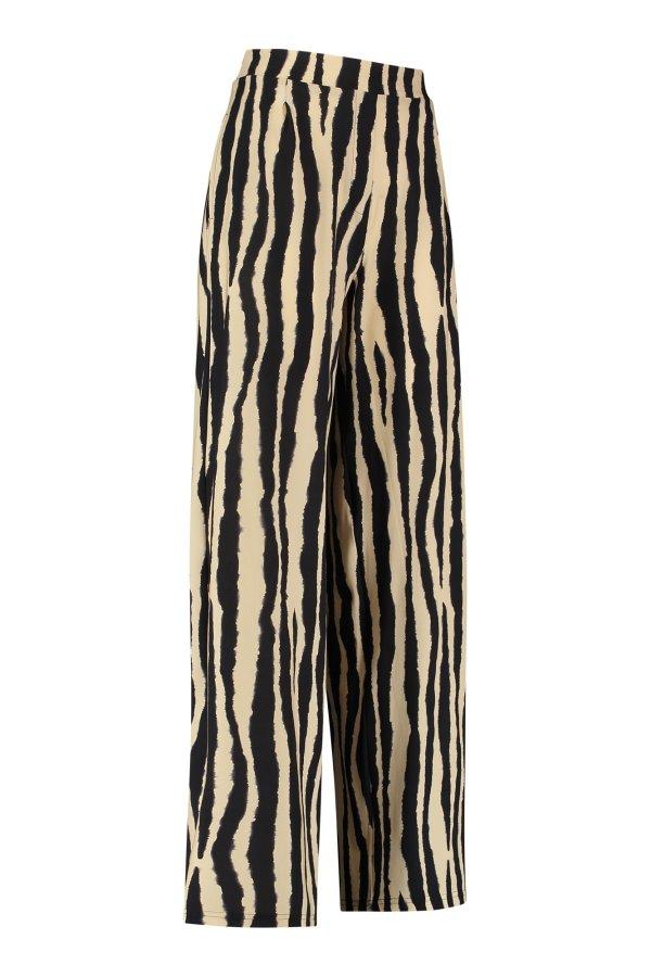 Esmeralda Stripe Trousers - Studio Anneloes - Zwart
