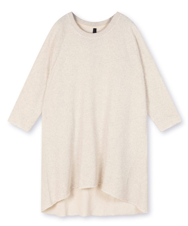 Oversized Dress - 10DAYS - Soft White Melee