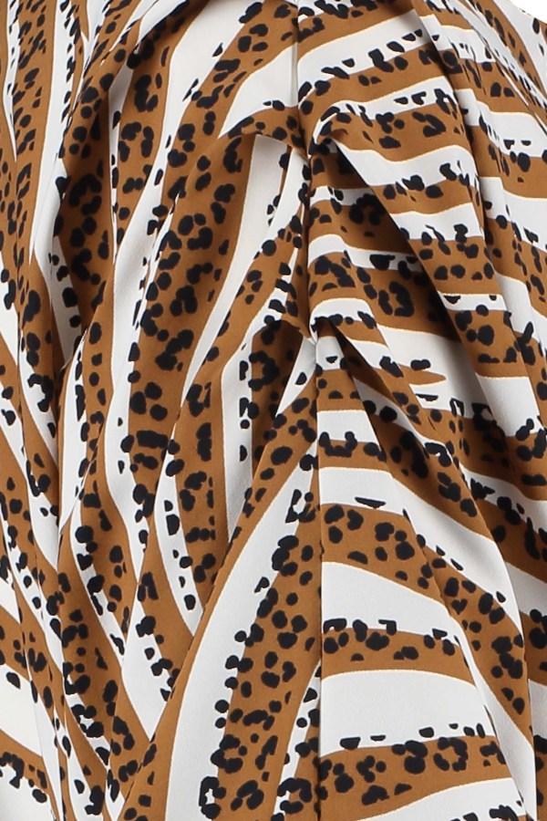 Jamie Tiger Shirt – Studio Anneloes – Off White Caramel Nieuw Shirt