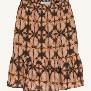 Charlie Batik Skirt - BY-BAR - Oranje