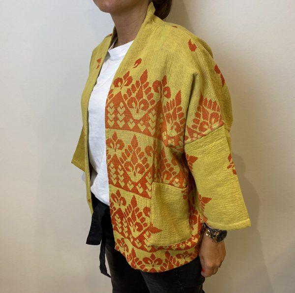 Antic Jacket - BY-BAR - Geel/Oranje