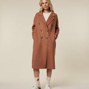 Wool Coat - 10DAYS - Camel