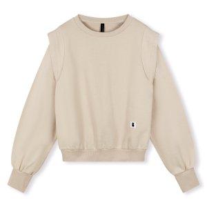 Sweater Statement Shoulder - 10DAYS - Beige