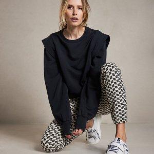 Sweater Statement Shoulder - 10DAYS - Almost Black