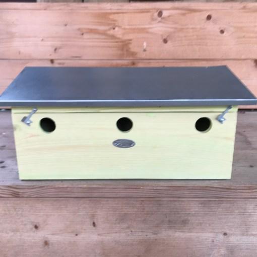 Nestkast voor huismussen