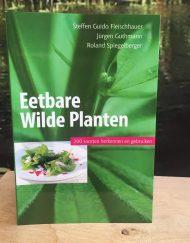 boek om de belangrijkste eetbare wilde planten te herkennen en te gebruiken