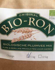 Biologische pluimvee mix, Biologisch kippenvoer, Bio-Ron kippenvoer, EKO, Eko voer, hele granen voer, pluimvee voer