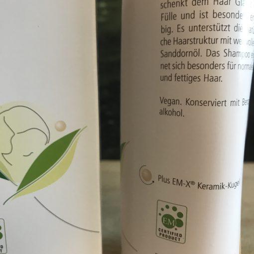 Shampoo met EM-X Gold