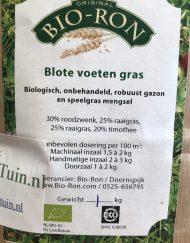 Blote voeten gras