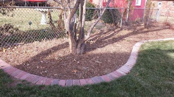 brick edging & omaha landscaping