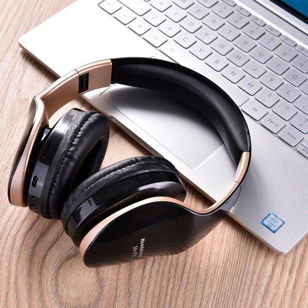 Bluetooth Headphones Wireless Music Auriculares Deecomtech