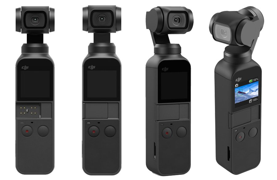 DJI Osmo Pocket 3 Portable handheld camera With Mechanical Stabilization