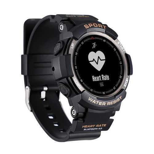 No1 F6 Bluetooth Smart Watch Black Deecomtech Store