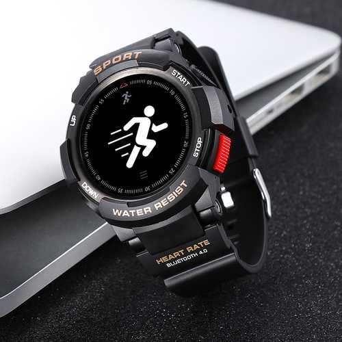 No1 F6 Smart Watch Exercising Outdoors Deecomtech Store