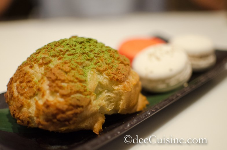 Green Tea Cream Puff