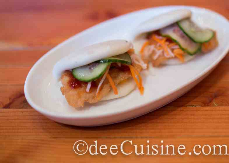 Korean Fried Chicken Bao