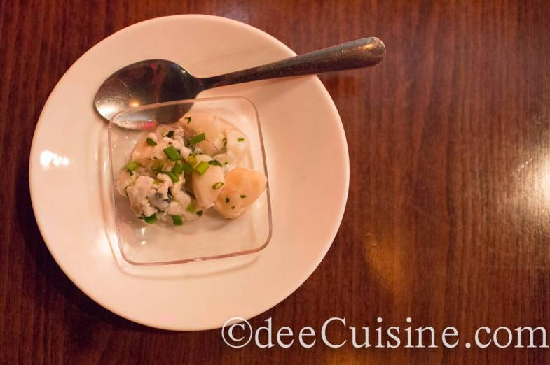Bistro 7 Scallop and Shrimp Ceviche