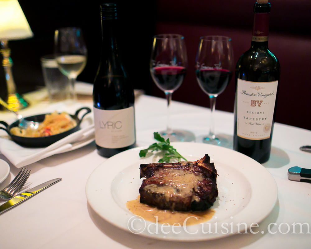 Bone-in Filet at The Capital Grille, Stamford