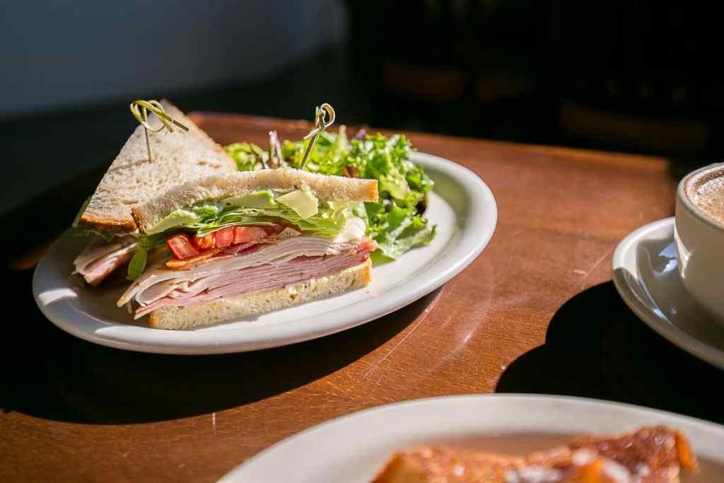 SoNo B.L.T. Club sandwich