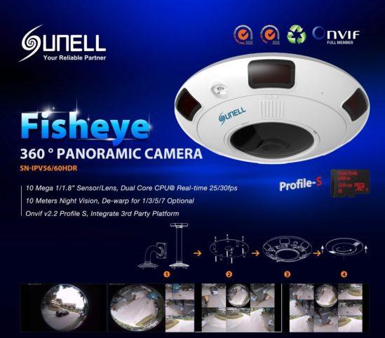 Sunell Fisheye