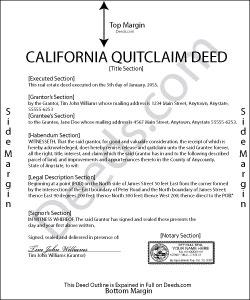 quit claim deed form nevada  Nevada Quit Claim Deed Form | How To Format An Executive Resume