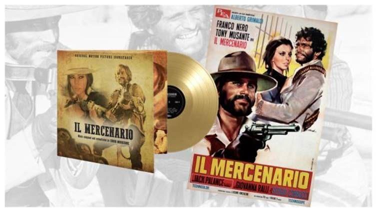 Afbeeldingsresultaat voor Morricone, Ennio-Il Mercenario -limited gold vinyl-