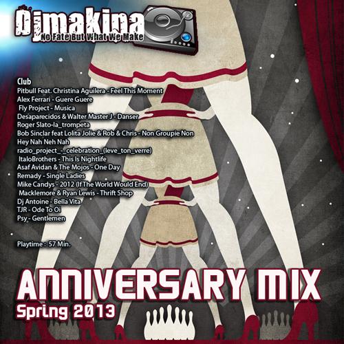 Djmakina -Anniversary mix 2013