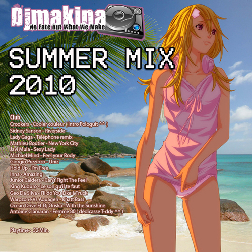 Djmakina - Summer mix 2010 500 pxl