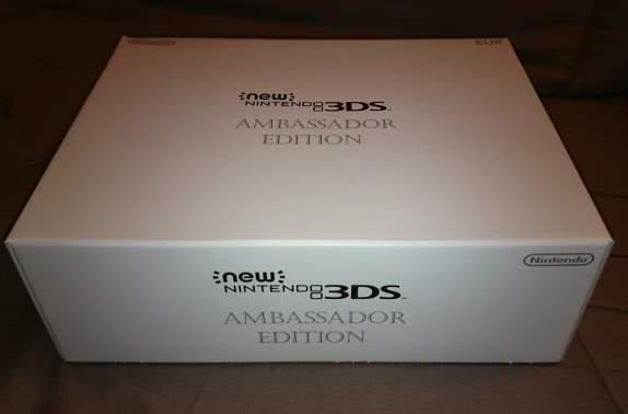 Vend new 3ds nintendo ambassador