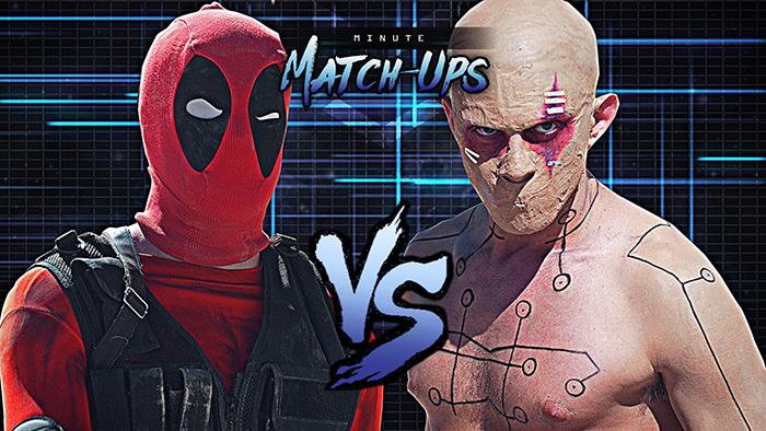 Deadpool V Deadpool_ Dawn of Deadpool _ Minute Match-Ups - Episode 1 (BQ)