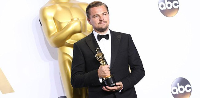 oscars 2016 Leonardo