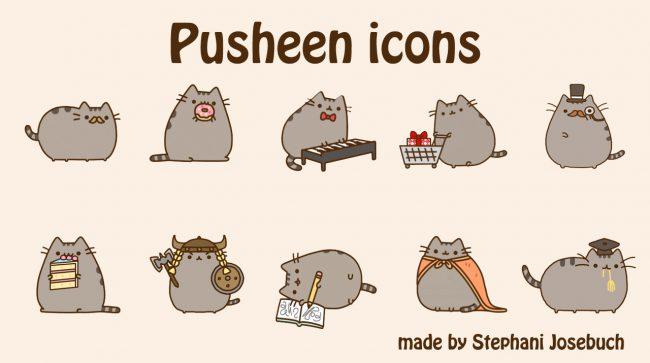 stickers Pusheen the Cat