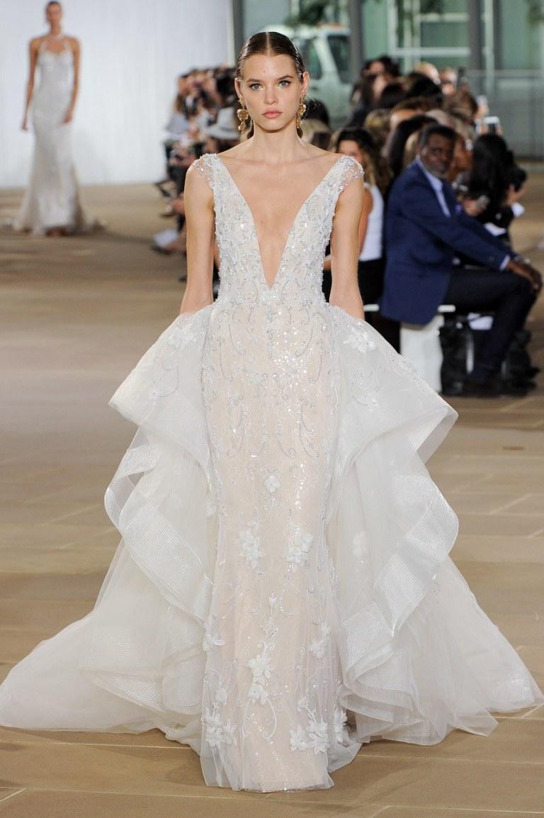 y Events | NYC 2018 Bridal Fashion Week | Ines Di Santo Bridal I Sexy Wedding Dress